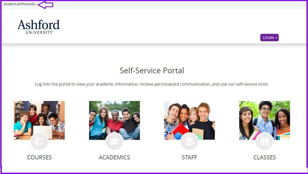 Ashford Student Portal