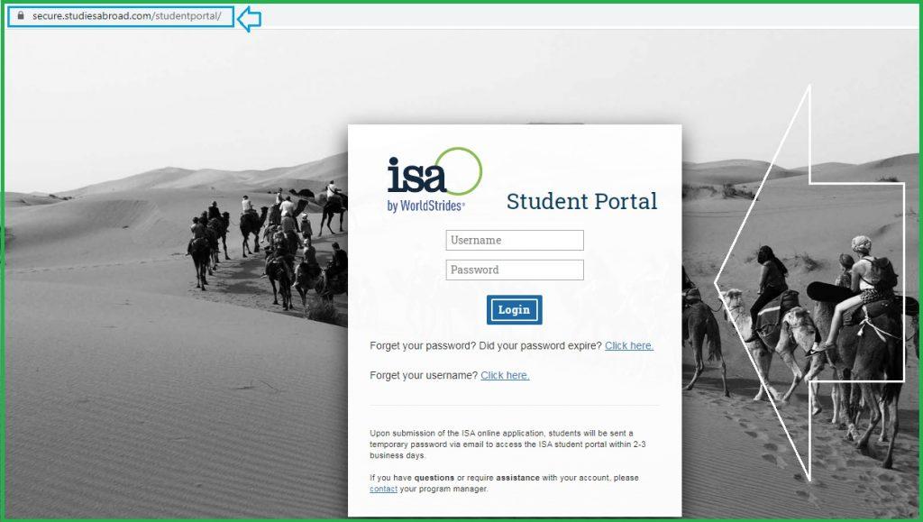 ISA Student Portal